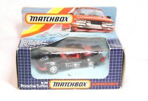 Matchbox Superkings K70 Porsche Turbo In Its Original Box - 1985 Mint!