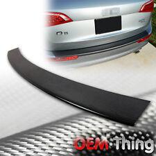 """SHIP OUT TODAY"" Carbon AUDI Q5 S Line Rear Bumper Protector Trim Cover 10-15"