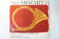 Mozart Posthornserenade Pro Musica Edouard van Remoortel Orbis 21373 LP9