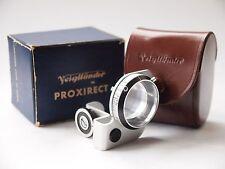 Voigtlander 93/192 Proxirect Close-Up Lens Attachment, Boxed. St No u7137