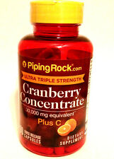 Ultra Triple Strength Cranberry Concentrate 30,000 Mg w/ Vitamin C USP 90 Pills