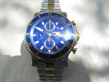 RENATO T-REX ONLY 60 MADE W/VALJOUX 7750 SHOCK BLUE DIAL   4