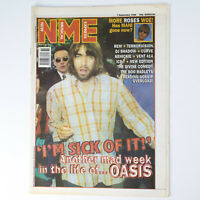 NME magazine 7 September 1996 OASIS cover R.E.M. Terrorvision Ice-T Curve
