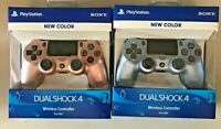 NEW Sony PS4 DualShock Controller Rose Gold + PS4 Titanium Blue Priority ship