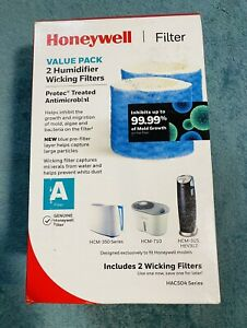 2  Filters Genuine Honeywell Type A Hac504 Series Wicking Humidifier New