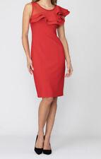 Joseph Ribkoff 193298 Lovely Lipstick Red Stylish Dress Size 18 New