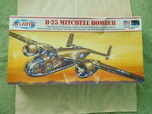 B-25 Mitchell Bomber Kit Made by Atlantis