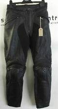 Dainese Ladies Firefly Black Leather Motorcycle Trousers EU 44 UK 12