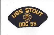 PATCH  NAVY USN USS STOUT DDG 55