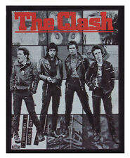 THE CLASH PHOTO POSTER  OVERLOCKED PATCH JOE STRUMMER PUNK ROCK A6+