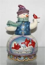 Jim Shore Snowman w/ Cardinal, 4022933