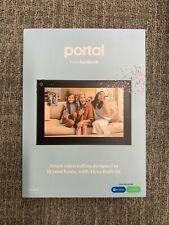 "Facebook Portal (2nd Generation) Smart Speaker with Alexa - Black, 10"""