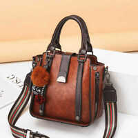 Women Shoulder Tote Women PU Leather Casual Handbag Messenger Crossbody Bag