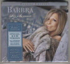 BARBRA STREISAND - LOVE IS THE ANSWER 2CD DELUXE EDITION- Brand New Hype Sticker