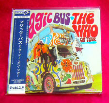 The Who Magic Bus MINI LP CD JAPAN UICP-93003