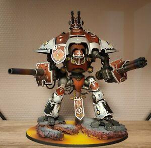 Imperial Knight Crusader / Warhammer 40k / Peint