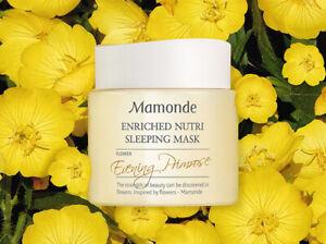Mamonde Enriched Nutri Sleeping Mask 100ML US Seller FREE SHIPPING