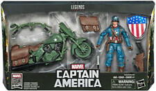 Ultimate Marvel Legends Captain America w/ Motorcycle NEW