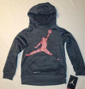 Nike Air Jordan Jumpman Toddler Boys Hoodie Sweatshirt Black Sz 4T FREE SHIPPING