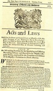 1757 Early Acts & Laws>RECRUITING OFFICERS & RECRUITS MAJESTYS FORCES IN AMERICA