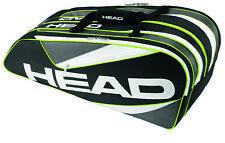 Head Elite 9R Supercombi Tennis Bag - Black - Authorized Dealer - Reg $80