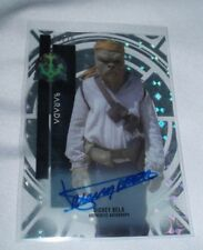 Star Wars High Tek Dickey Beer as Barada 50/75 Autograph Auto Topps Card