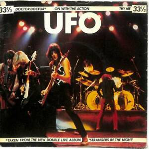 "UFO - Doctor Doctor - Clear 7"" Vinyl Record Single"