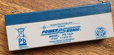 Power Sonic 12V 2.1AH (2.3AH) Rechargeable Battery Fire & Burglar Security Alarm