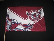 NRL MANLY SEA-EAGLES FLAG GAME DAY - NEW