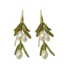 Sawgrass Dangle Earrings By Michael Michaud For Silver Seasons #3119