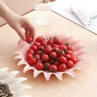 Seashell Small Shaped Plate Dessert Care Fruit Dish Snack Tray Serving Y