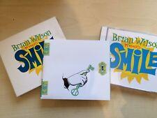 BRIAN WILSON - PRESENTS SMILE (CD ALBUM) cd, booklet and slipcase