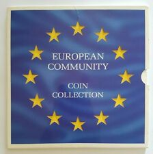 More details for 1992 the royal mint european community 12 coin collection set includes 1992 £1