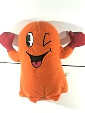 "Clyde Orange Pac-Man Ghost 10"" Plush Namco Otoboke Stuffed Toy"