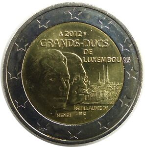 LUXEMBOURG 2 Euro 2012