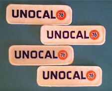 4 Lot Unocal 76 Gas Oil NASCAR Racing Sponsor Hat Jacket Racing Gear Patches