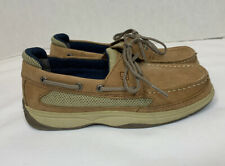 Sperry Top Sider Lanyard Boat Boys Shoes Yb46122A Size 4.5