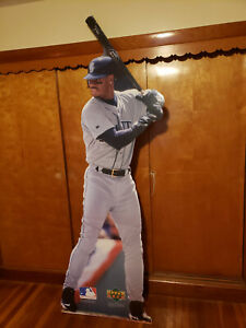"""BRAND NEW IN BOX RARE KEN GRIFFEY JR LIFE SIZE STANDEE CUTOUT 88"""" FREE SHIPPING!"""