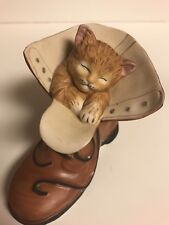 "Hamilton Collection ""Caught Napping"" Figurine"