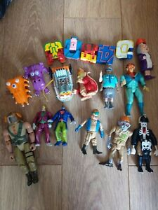 80s 90s Retro Toys Ghostbusters, Thunderbirds And Transformers