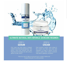 Simple Extracts NATURAL Anti-Wrinkle Serum & Skin Cream SYSTEM Anti-Aging