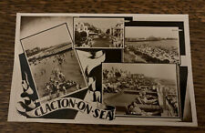 🍦 CLACTON-ON-SEA. multi-view. 1955c. (#1893)