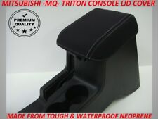 MITSUBISHI TRITON MQ NEOPRENE  CONSOLE LID COVER (WETSUIT MATERIAL) MAY 2015-NOW