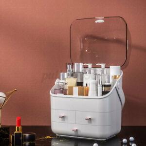 Desktop Makeup Organizer Cosmetic Storage Box Drawer Case Brush Lipstick US