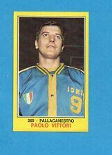 CAMPIONI dello SPORT 1970-71-Figurina n.260- VITTORI -PALLACANESTRO-NEW