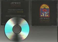 JOYWAVE Tongues PROMO radio DJ CD Single 2014 w/ PRINTED LYRICS MINT USA