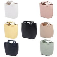 Zara Open Top, No Closure Leather Outer Handbags