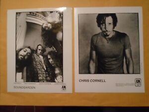 SOUNDGARDEN CHRIS CORNELL AUDIOSLAVE LOT ORIGINAL VINTAGE glossy b&w movie photo