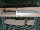 Extrema Ratio Desert Tan AMF Fixed Blade Knife Bohler N690 Drop Point