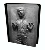 Han Solo In Carbonite Star Wars Tablet Leather Case Cover
